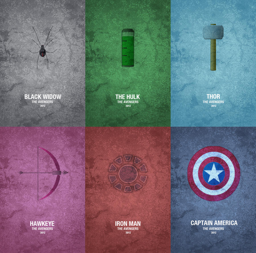 The Avengers by Al-Pennyworth