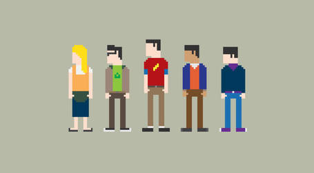 The Big Bang Theory 8-Bit
