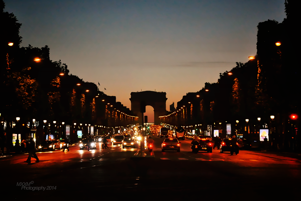 Champs Elysees by Mxxm10