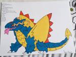 Smaugaze, the Piercing Glare Pokemon