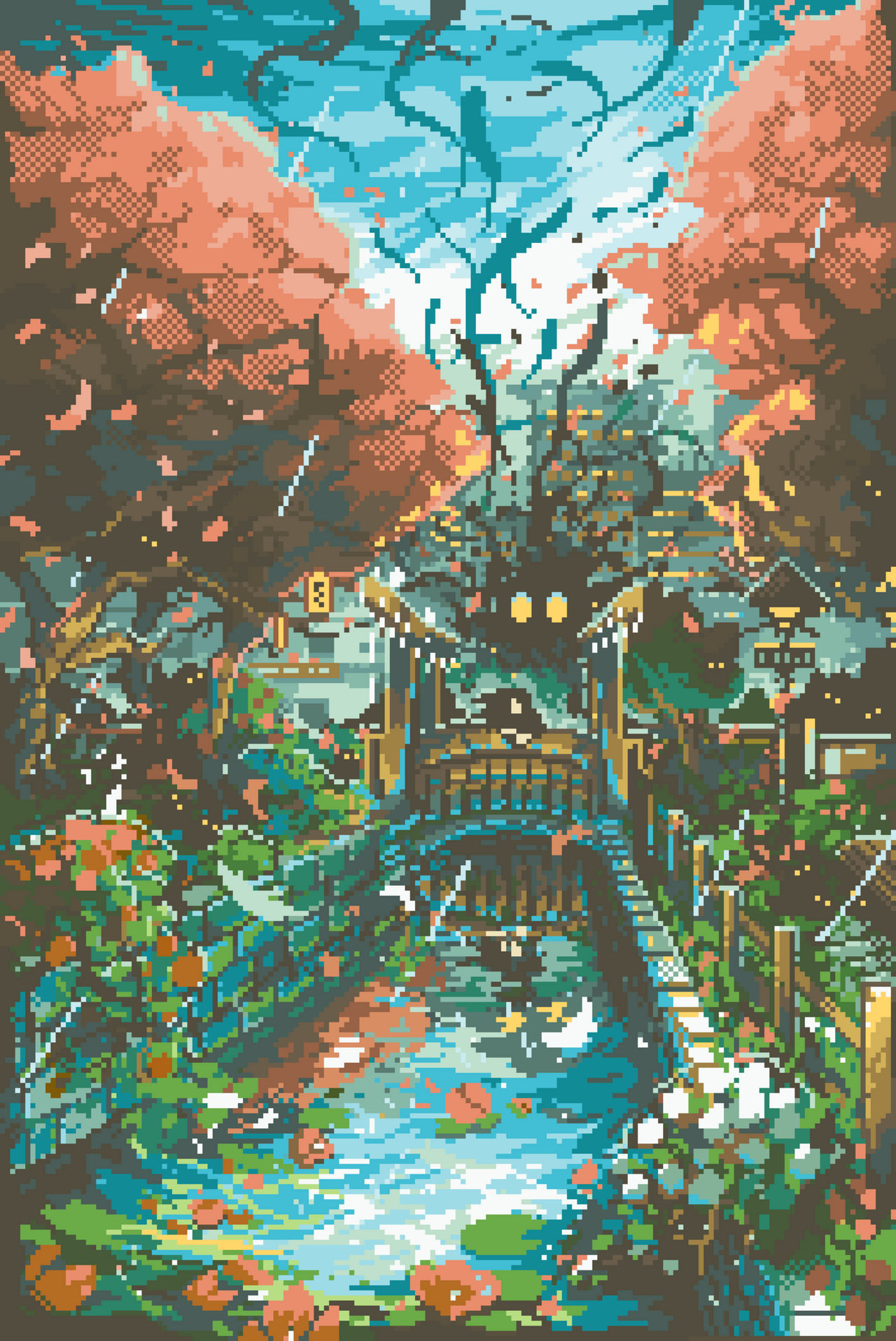 City Shadows by CursedMatcha