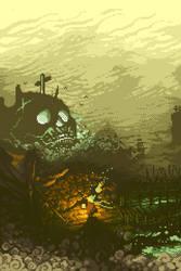 Breakwater Burial by CursedMatcha
