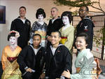 Asakusa Geisha and Sailors