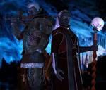 Ryld Argith and Pharaun Mizzrym II by DrowElfMorwen