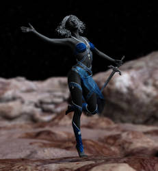 Tionne Noquana :: Drow Priestess by DrowElfMorwen