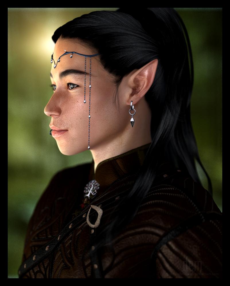 The Beauty of an Elf by DrowElfMorwen
