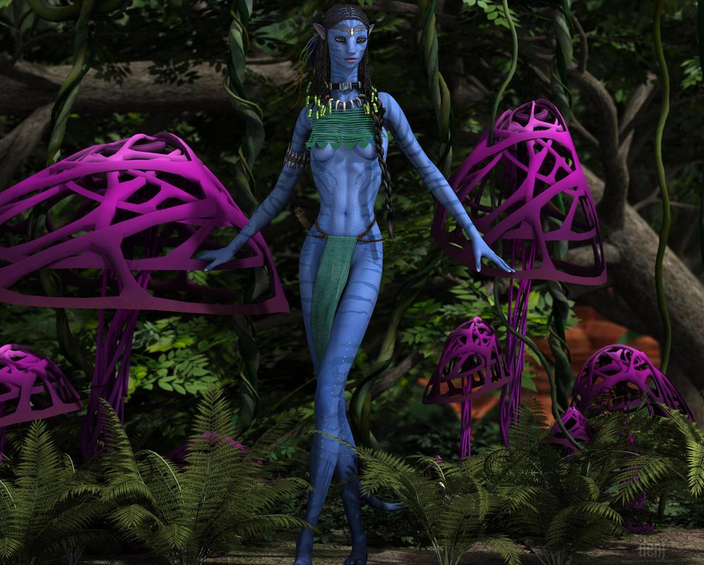 Aynatmana :: Forest Na'vi by DrowElfMorwen