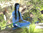 Meditation for the Huntress :: Iray