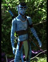 Nawkxey, Na'vi Warrior :: Iray 3 by DrowElfMorwen
