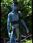 Nawkxey, Na'vi Warrior :: Iray 3