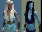 Khaleesi... Has an Avatar by DrowElfMorwen