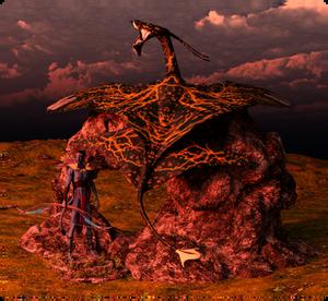 Na'vi Chief and His Ikran