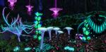Pandoran Forest at Night by DrowElfMorwen