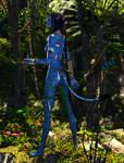 Aynatmey the Warrior :: Na'vi