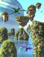 Pandora Ocean Flight by DrowElfMorwen