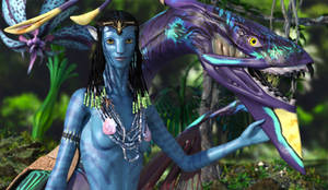 Na'vi and Ikran :: Bonded for Life :: Part I by DrowElfMorwen