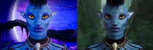 Ka'rin Portrait by DrowElfMorwen