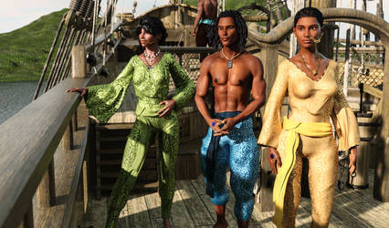 Atha'an Miere :: The Sea Folk [Updated] by DrowElfMorwen