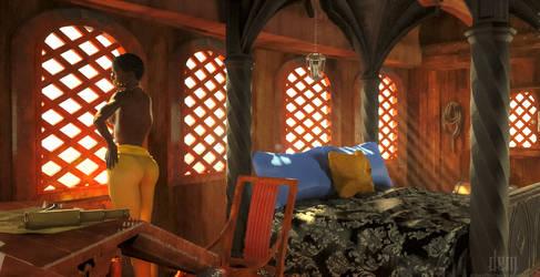 Sailmistress' Cabin by DrowElfMorwen