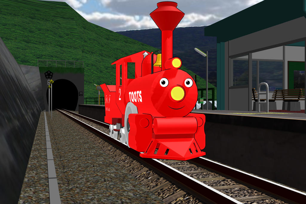 Railways of Crotoonia: Toots promo by TheMilanTooner