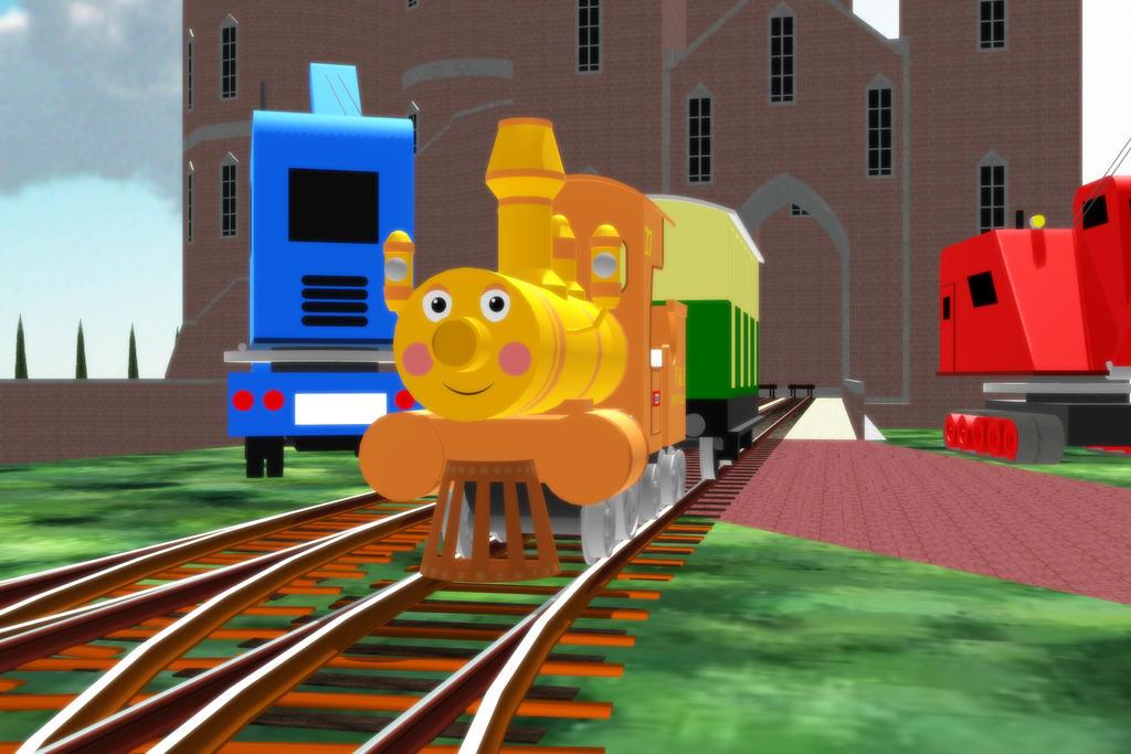 Railways of Crotoonia: Chugs Promo by TheMilanTooner