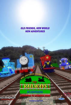 The Railways of Crotoonia Official Poster #1