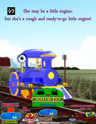 The Railways of Crotoonia| Character Poster #3