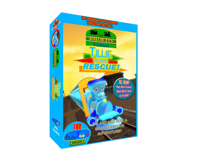 Crotoonia|Tillie to the Rescue VHS 3D Cover Art by TheMilanTooner
