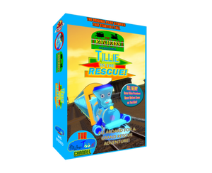 Crotoonia|Tillie to the Rescue VHS 3D Cover Art