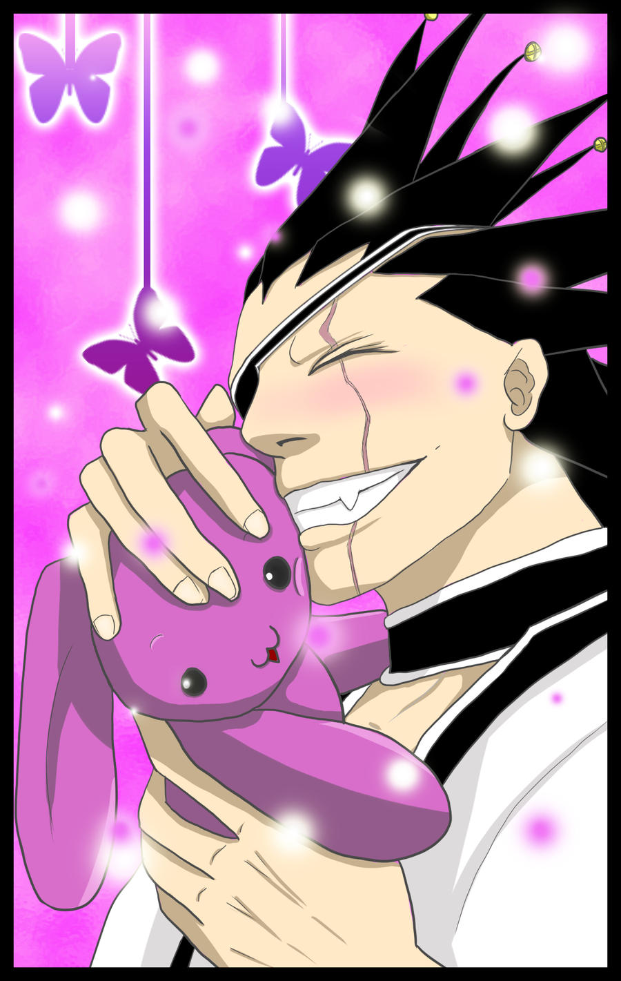 Kenpachi loves HugZ by XiaoShuai