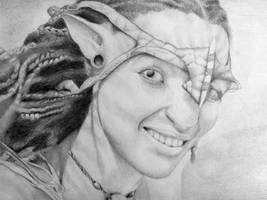 Happy Neytiri by JohnTheViolator