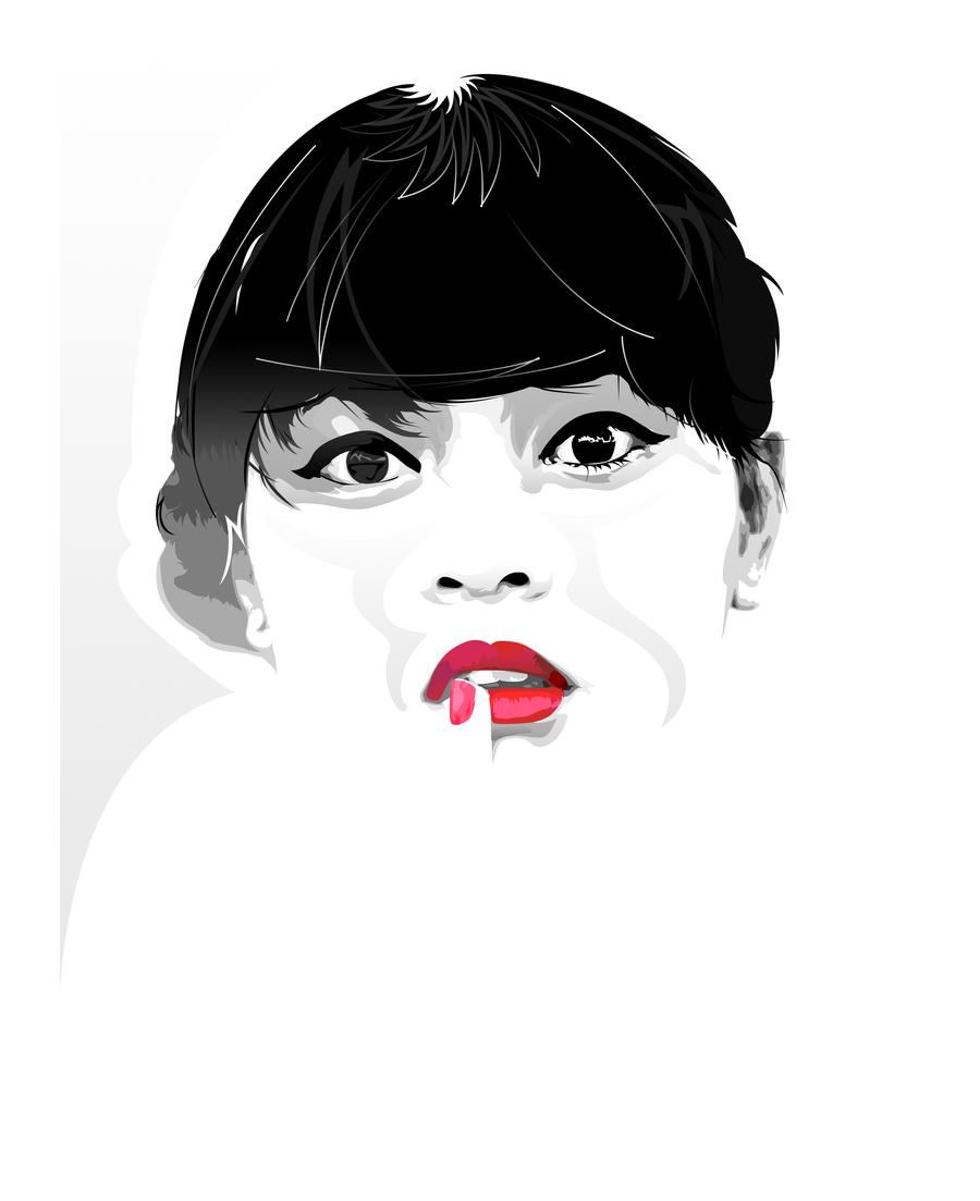 Sugar lips :) by LP-D