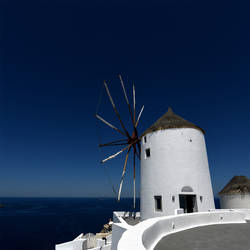 Postcard from Santorini 03 by JACAC