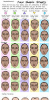 Face Shapes Study