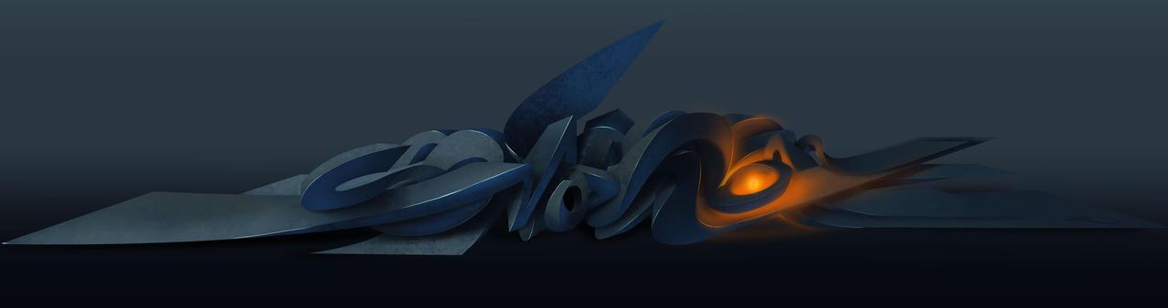 graffiti digital 3d  pres5 by Debecas