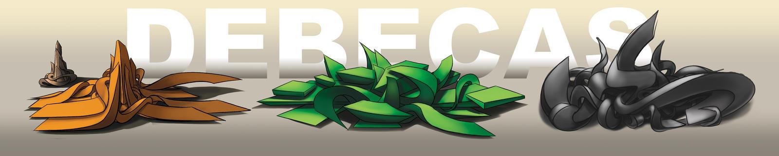 graffiti digital 3d  Debecas by Debecas