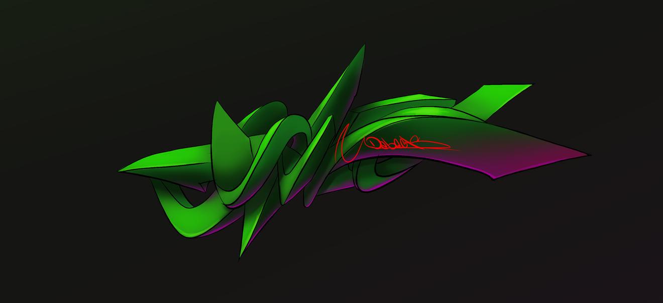 Debecas  graffiti digital by Debecas
