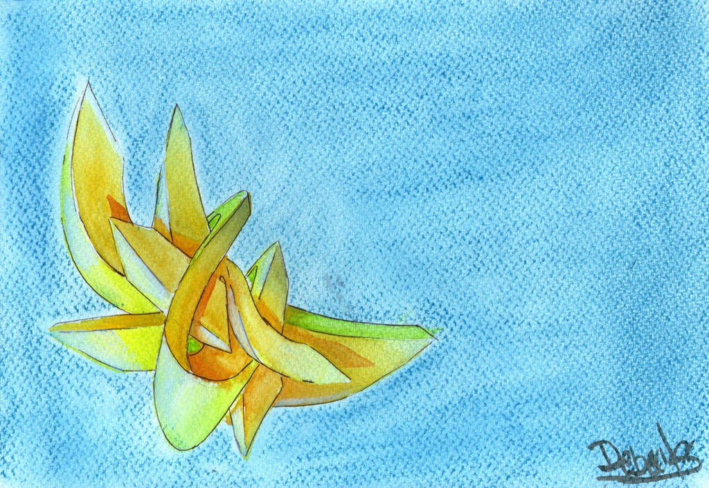 Grafiti  3d tecnica mixta by Debecas