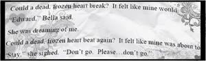 dead frozen heart