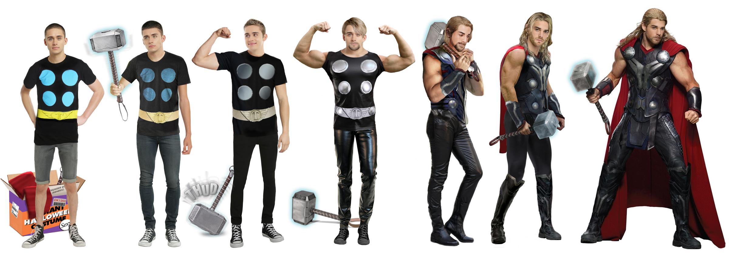 Instant Halloween Costume: Feelin\' Mighty Thor by CrisKane on ...