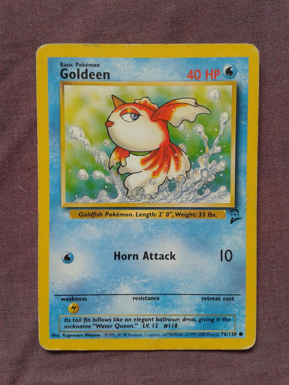 Goldeen by PokemonTCG