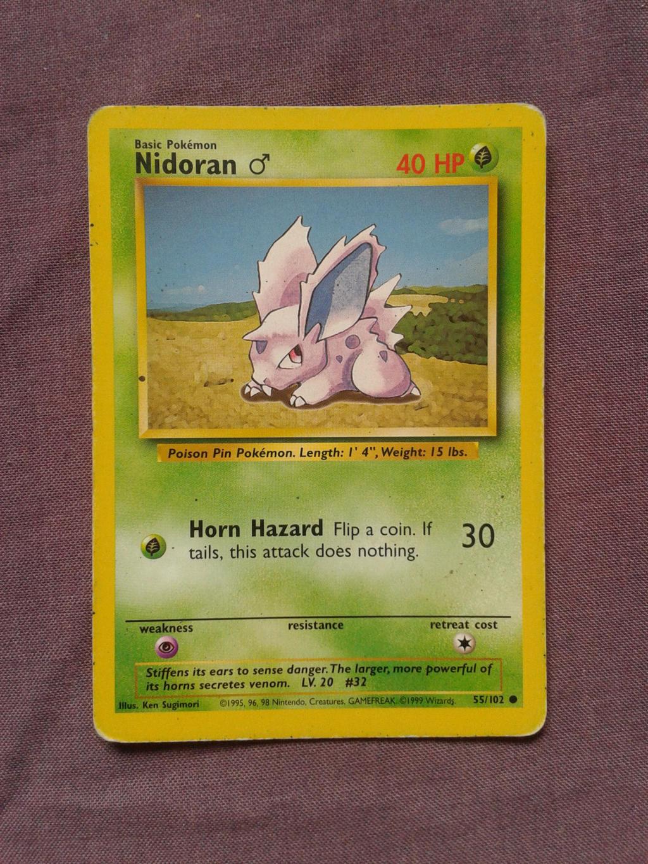 Nidoran by PokemonTCG