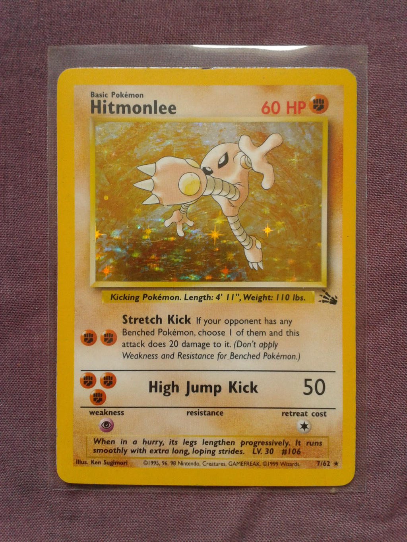 Hitmonlee by PokemonTCG