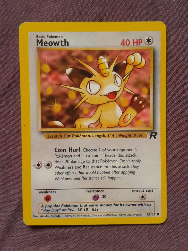 Meowth by PokemonTCG