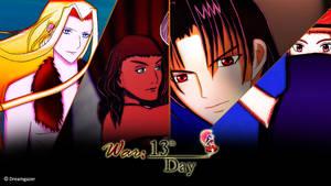 War: 13th Day [Fantasy, Psychological, Romance]