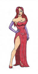 Disney Gals revamped: Jessica Rabbit