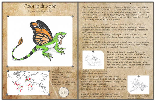 Technological fantasy - Faerie dragon