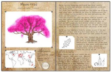 Technological fantasy - Moon tree