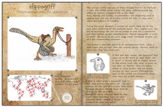 Technological fantasy - Hippogriff