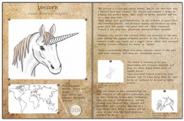 Technological fantasy - Unicorn